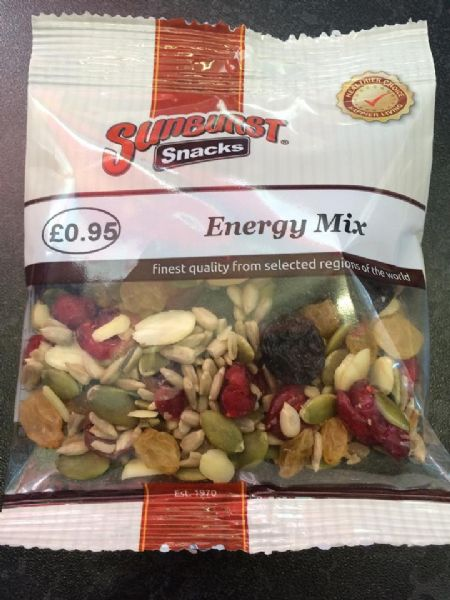 Sunburst Energy Mix  60g  Packet